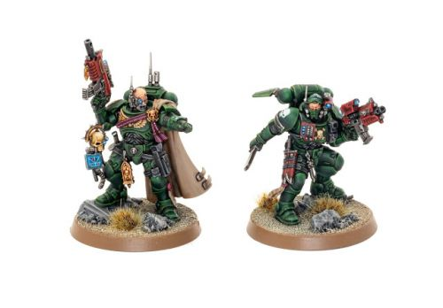 Showcase: Dark Angel Captain and Lieutenant