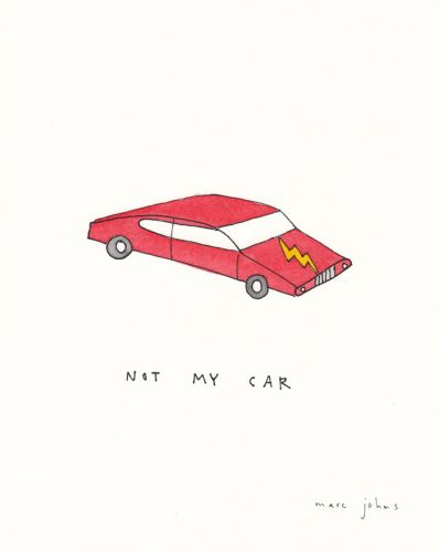 Not my car