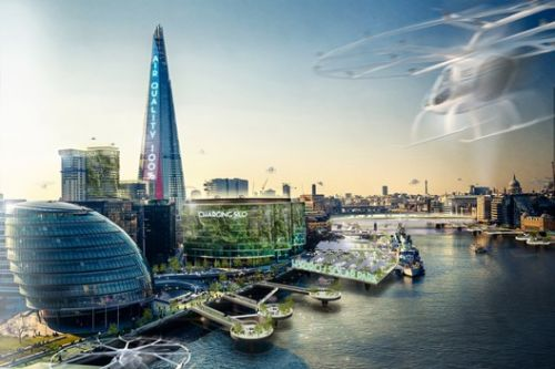 The Electric Automated Cities of the Future, According to Jaguar and Barr Gazetas