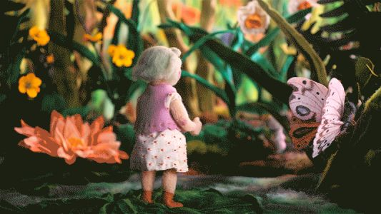 Six-Year-Old Tulip Navigates a Wooly Garden in a New Animation by Andrea Love