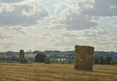 Harvest Stacks by South Luffenham Mill
