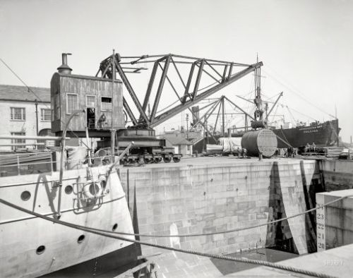 The Great Crane: 1905