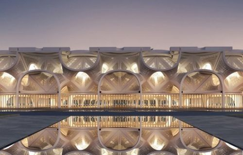 NUDES Designs a Mosque of Light for Dubai