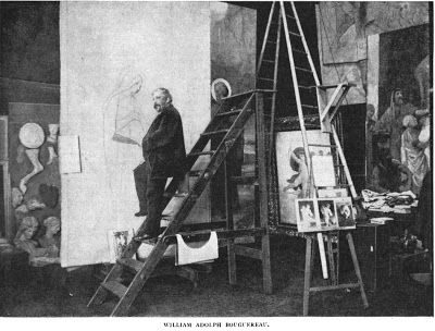 Bouguereau in His Studio