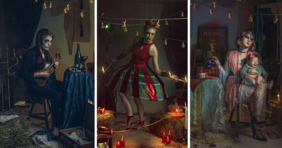 This Photographer Turned Her Studio Into an Antique Circus
