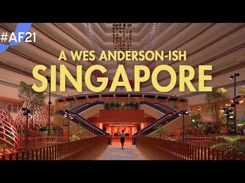 Wes Anderson-Inspired Short Film Highlights Singapore's Built Environment and Urban Planning