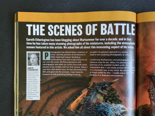 ToP Tips: 3 Tips for getting your Models featured in White Dwarf