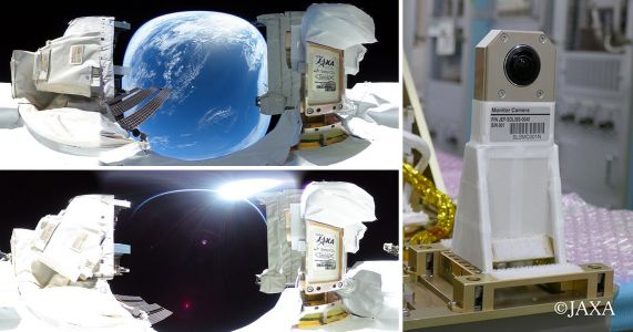 Ricoh Teamed Up with JAXA to Capture 360° Photos and Videos in Space