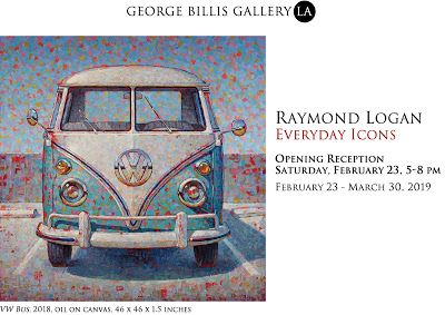 Raymond's Upcoming Show at George Billis Gallery/LA