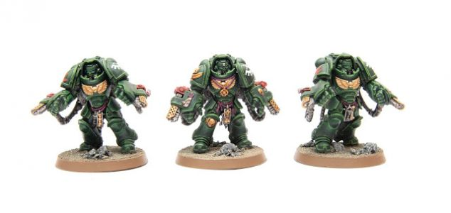 Showcase: Dark Angels Primaris Aggressors