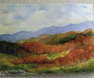Travel Journal -Blue Ridge Parkway - Lin Frye - North Carolina