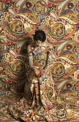 Set Against Lavishly Patterned Backdrops, Photographer Cecilia Paredes Disguises Herself in Stunning Self-Portraits