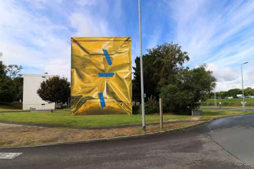 """Safe House"" by Leon Keer in Morlaix, France"