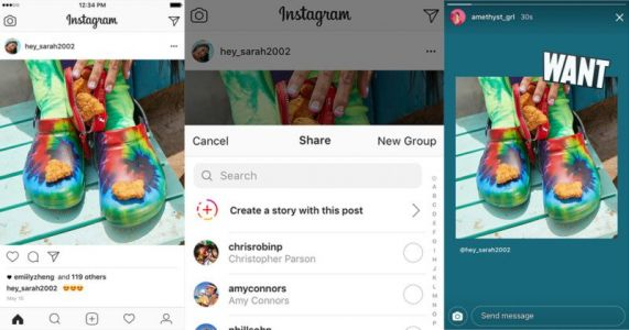 Instagram Now Lets You Share Other People's Photos in Stories