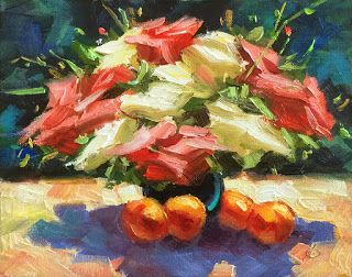 COLORFUL STILL LIFE by TOM BROWN