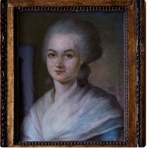 French actress Olympe de Gouges. erased from history until now