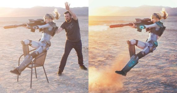 How I Shot a Nova Terra Cosplay Photo in the Desert