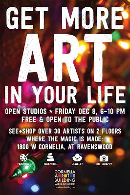 Dec 8 Holiday Open House Cornelia Arts Bldg