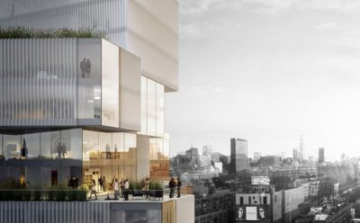 Studio Seilern Architects Unveils Plans for Skyscraper in Manhattan's Art Quarter