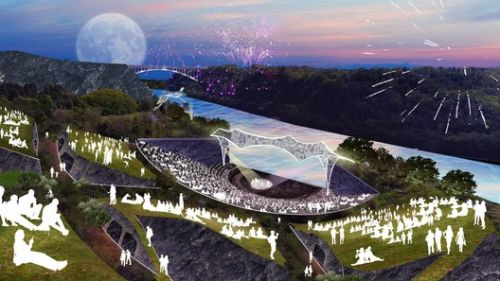 SO-IL and West 8 Design Artpark for New York's Niagara Gorge