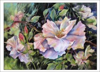 Queen For The Day..Pastel..Texas Artist..Rae Andrews