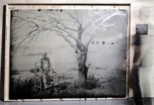 This is the World's Largest Wet Plate Collodion Photo