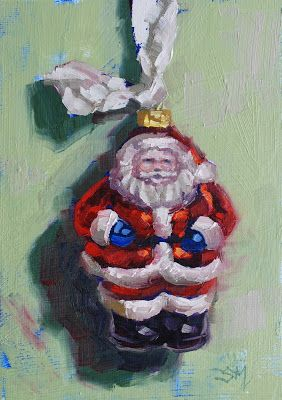 No. 834 Santa on a Ribbon