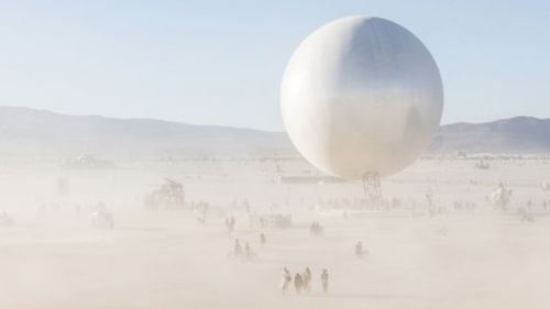 Burning Man's ORB Through the Animated Lens of Another: