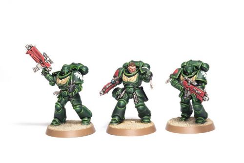 Showcase: Dark Angel Primaris Intercessors