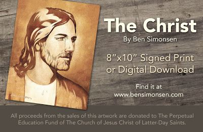 "The Christ - as featured in Elder John C. Pingree Jr. talk entitled ""I have a work for thee"""
