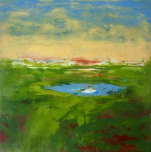 Actually Painting with Encaustic
