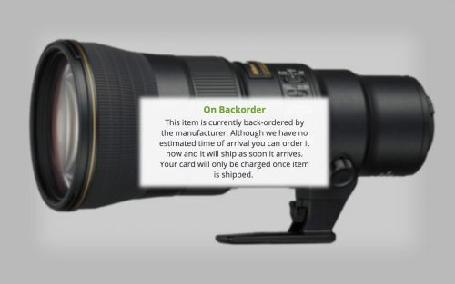Nikon is Only Producing 1,000 Copies of the 500mm f/5.6 PF Lens Per Month