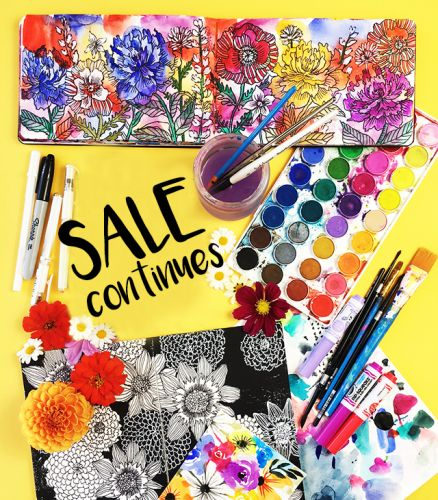 SALE continues one more week!