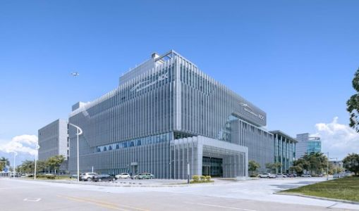 Comprehensive Information Building of Guangzhou Baiyun International Airport / Wuhan Jointhorp Architectural Design