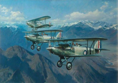 """Up Close: Frank Wootton's """"Harts Over the Himalayas"""""""