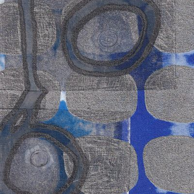 New Work: Water Covers and the Sealed Crack Lines Around Them 2