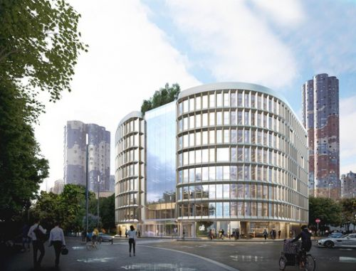 """Carlo Ratti Associati Creates Mixed-Use Office with """"Open Arms"""" for Paris"""