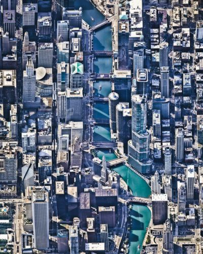 Vertical Urbanization As Seen From Above