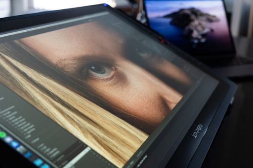 XP-Pen Artist Pro 24 Review: Editing Photos on a 24-Inch Pen Display