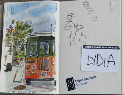 Urban Sketching in Old Town San Diego