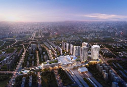 Ronald Lu & Partners Completes Phase One of China's First Transit-Oriented Development
