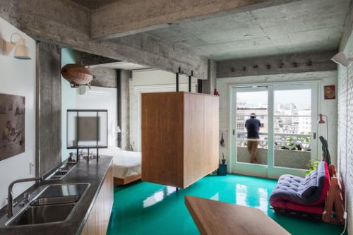 10 Brazilian Apartments Under 65 Square Meters