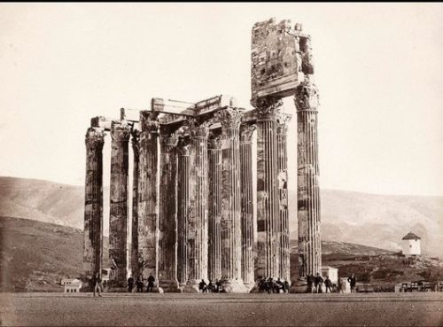 The Curious Case of a Doctored 19th Century Photo of Ruins in Athens