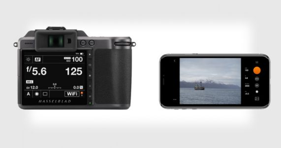 Phocus Mobile 2 App Now Lets You Tether Your Hasselblad to an iPhone