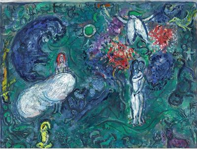 Marc Chagall. Born on this day in 1887