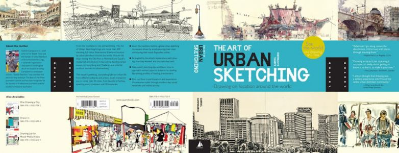 The Art of Urban Sketching is off to press