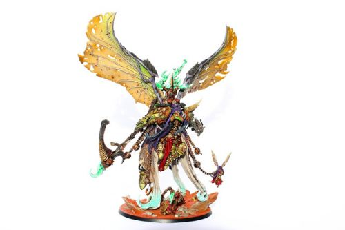 Showcase: Mortarion, Daemon Primarch of Nurgle by Howard