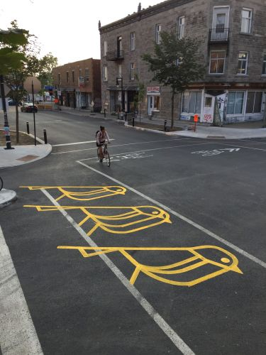 Art and Activism Collide Throughout Montréal in Playful Street Interventions by Roadsworth