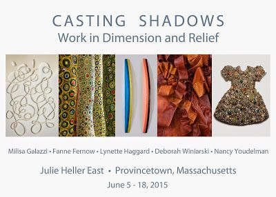 Casting Shadows show at Julie Heller East Gallery