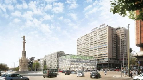 Foster + Partners Reveal Proposal for Refurbished Axis of Madrid